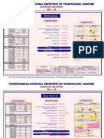 Acdemic Calendar 2011-12