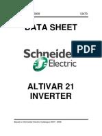 Schneider Altivar 21