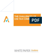 The Challenges of Use Tax Compliance
