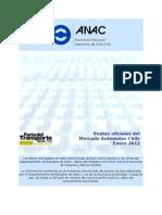 ANAC - Mercado Automotor Enero 2012