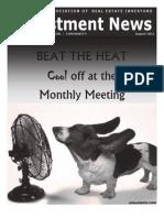 Newsletter - August Newsletter