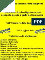 Biogás de Manipueira-Vicente Cézar