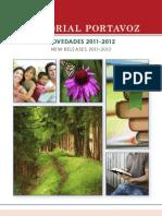 Catalogo novedades 2012 Portavoz