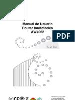 RouterInalámbrico_AW4062_ManualDelUsuario