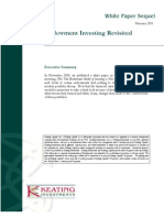 Endowment Investing Revisited