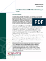 The Yale Endowment Model of Investing is Not Dead