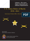 Vol 1 Arms - Major Commands and Infantry Organizations, 1919–41