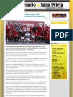 07-02-12 Gran éxito el Primer Maratón Juvenil 2012 organizado por el Frente Juvenil Revolucionario