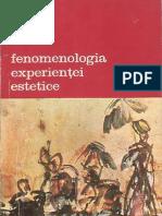 Mikel Dufrenne Fenomenologia Vol 2