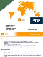 IGI_Overview - Healthcare SW Product Case Studies