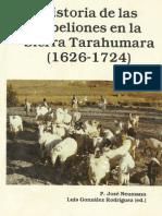 Historia de Las Rebeliones en La Sierra Tarahumara_1626_1724