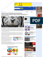 Forscher Warnen Vor Manipulation Durch Hirnforschung - Www-gmx-net-2