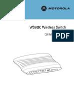 Ws2000 Cli Guide