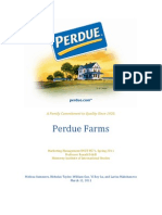 Perdue Foods Marketing Case Analysis