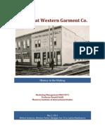 GWG Marketing Case Analysis