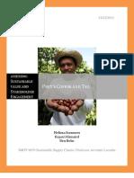Peet's Coffee and Tea Supply Chain Analysis