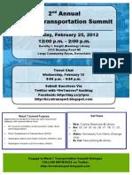 W7Transpo Summit Flyer Update