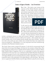 New Volume of Igros Moshe