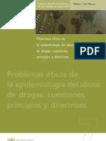 Problemas Eticos de La Epidemologia de Las Drogas