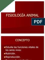 Fisiología animal 1