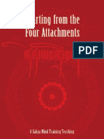 Parting From the Four Attachments.