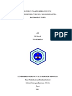 Analisis pH, Total Suspended Solid (TSS), Logam Besi, dan Logam Mangan dalam Sampel Air Limbah Kegiatan Tambang Batubara