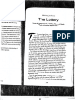 The Lottery, by Shirley Jackson