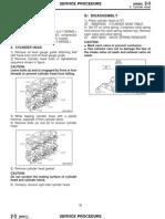 Forester Cylhead Install