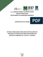 ESTUDOS, MODELAGEM E SIMULAÇÃO DE INSTALAÇÕES DE