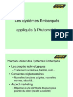 VI - Systemes Embarques Automobile