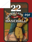 22 Success Lessons From Baseball