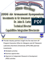 John D. Corley- 2006 Air Armament Symposium