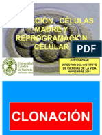 Clonacion Celulas Madre y Reprogramacion Celular