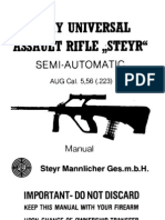 "Steyr Mannlicher- Army Universal Assault Rifle ""Steyr"" Semi-Automatic AUG Cal.5,56(.223)"