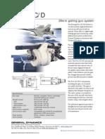 General Dynamics- F/A-18 C/D 20mm gatling gun system