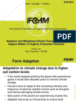 Adaptation and Mitigating Climate Change With Soil Organic Matter