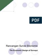 12 Rancangan Survei Ekonomis