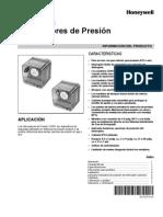 Interruptores de Presión C6097A Y B