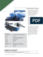 General Dynamics- AGS advanced gun system