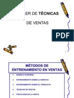 TECNICA DE VENTAS