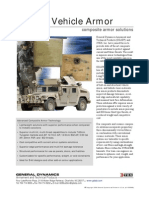General Dynamics- Tactical Vehicle Armor composite armor solutions