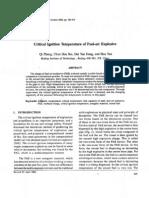 Qi Zhang et al- Critical Ignition Temperature of Fuel-air Explosive