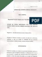 Fallo Lyda Cristina Duarte