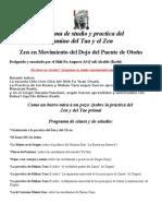 Programa de estudio del Zen (Augusto Alcalde-Roshi)