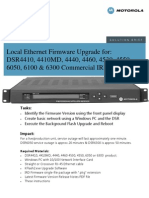Motorola DSR Ethernet Upgrade Guide 5-3-2010