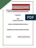 Instituto Tecnologico Superior de Lerdo Web Quest
