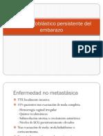 5) Enfermedad Trofoblastica CA Utero, CA Ovario