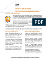 White Paper - Customer Value Managment