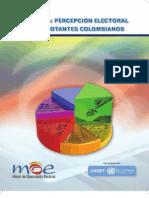 Percepción electoral de los votantes colombianos