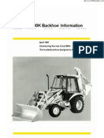 Case Backhoe 580K Catalog